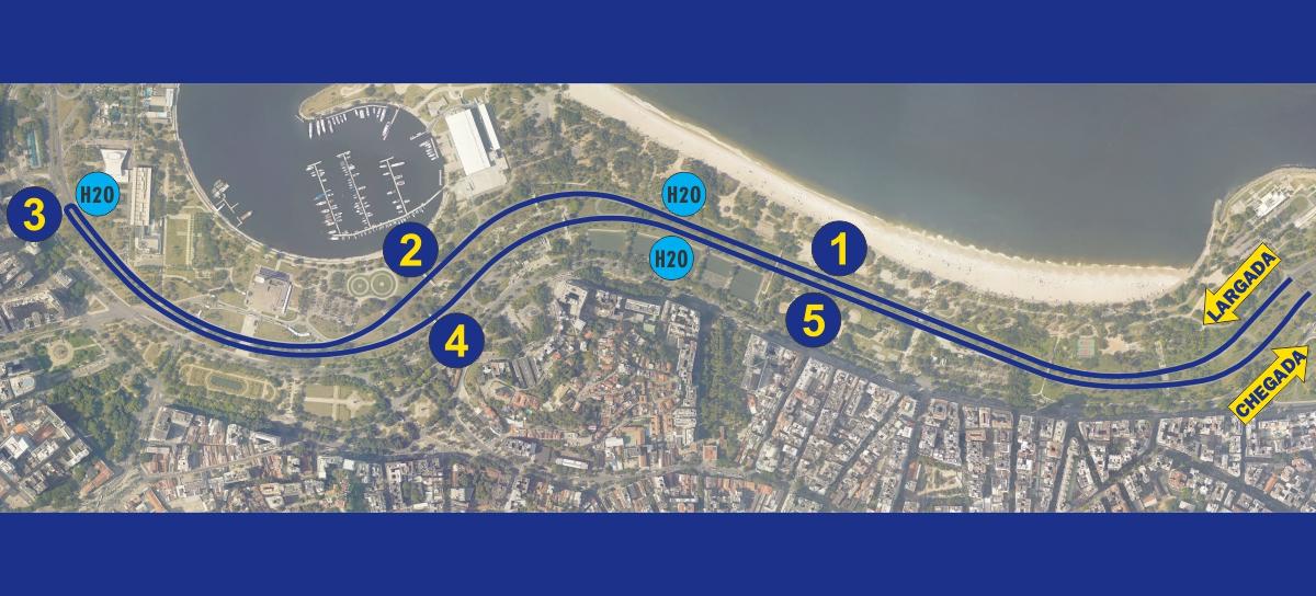 Percurso 5K